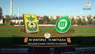 """Video: ''Ventspils'' beidzot iesit un apspēlē """"Mettu""""/LU"""