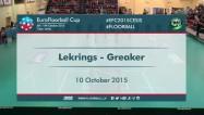 Video: ''Lekrings'' finālspēles izskaņā piekāpjas norvēģiem