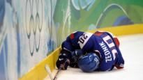 Olimpiskais hokejs turnīrs. Pusfināli