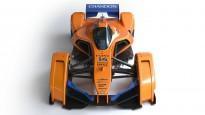 """""""McLaren"""" prezentē nākotnes F1 mašīnu"""