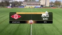 ''Spartaks'' turpina uzvarēt, pārspējot RFS