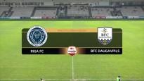 "FC ""Riga"" pārspēj Daugavpili"