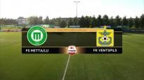 Ventspils zaudē punktus pret Metta/LU