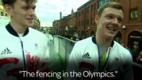 Viltnieki parādē uzdodas par olimpiskajiem medaļniekiem