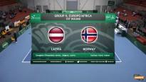 Latvija dubultspēlē piekāpjas Norvēģiem