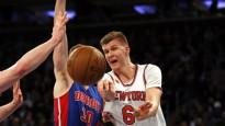 """Porziņģis salādē 25 punktus, uzvarot """"Pistons"""""""