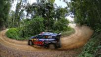 Austrālijas WRC treniņā ātrākais Noivils