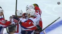 Kad pirmie vārti kļūst par KHL rekordu – aizsargs iemet piektajā sekundē