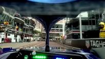 F1 komanda nofilmē apli Monako trasē tieši no pilota redzespunkta