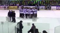 Daugavpils jaunie hokejisti braši nodzied himnu