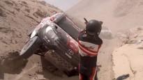 Viltīgā gravā iestrēgst vairākas Dakaras rallija ekipāžas, arī lietuvieši
