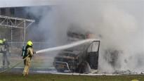 Stupeļa ekipāža uzvar kvalifikācijā Beļģijā, fonā nodeg treileris