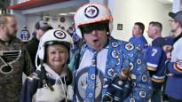 NHL jocīgākajos momentos arī sapucējušies skatītāji