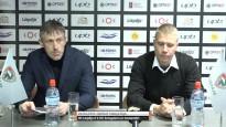 """Bogdanovs: """"Čaļi izcīnīja šos divus punktus"""""""