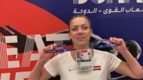 Dohā nesanāk plānotā intervija ar Aneti Kociņu