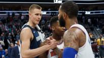 """Porziņģis sarūpē 28+9+5 cīņā pret """"Knicks"""""""