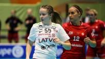 Latvijas florbola izlase gūst četrus vārtus pret Šveici