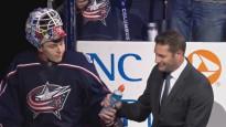Merzļikins trīs reizes parādās NHL jocīgākajos momentos