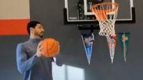 NBA garākais spēlētājs tiek komiski atdarināts Kantera izpildījumā