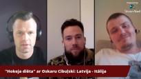 """Hokeja diēta"" ar Oskaru Cibuļski - Latvija sagrauj Itāliju"