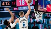 Porziņģim trešā vieta NBA momentos, Pasečņikam otrā plāna loma