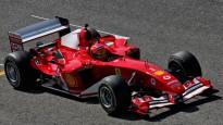 """Miks Šūmahers ar sava tēva """"Ferrari"""" traucas pa Mudžello trasi"""