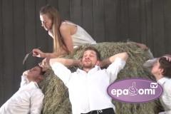 """Video: Jaunums-  intriģējošas izrādes """"Raiņa sapņi"""" pirmie fragmenti"""