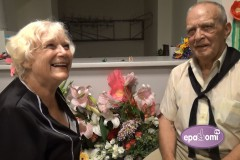 Video: Pauls Butkēvičs Daudzesē nosvin 75 gadu jubileju!