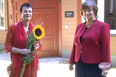 Video: Gaida Jablovska intervijā par Raiņa un Aspazijas muzeja atvēršanu Rīgā