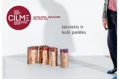 """Video: Izstādes """"CILME / audums kā koncepcija un materiāls Latvijas identitātē"""" aktivitātes"""