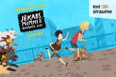 """Video: Animācijas filmas """"Jēkabs, Mimmi un runājošie suņi"""" aizkadrā"""