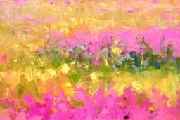 Galerijā Mākslas Banka skatāma Ingas Pērkons gleznu izstāde BAGĀTĪBA