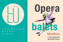 LULU BĒRNIEM – operas un baleti pašiem mazākajiem