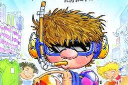 Skolasbērnu palaidnības jautrās grāmatās