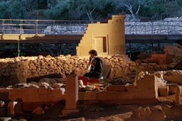 Baha svītas unikālā Krētas liras skanējumā