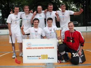 """""""Florbolam.lv"""" dramatiskā cīņā kļūst par VFL 2011 čempioniem"""