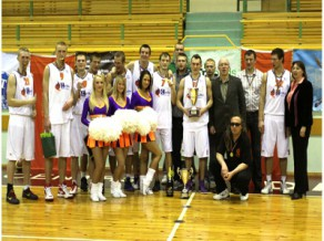 """Studentu basketbola līgas 10. jubilejas sezona noslēgusies ar """"Turības"""" uzvaru"""