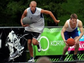 """Ghetto Basket""  vēsturē pirmajā ""Skills Challenge"" triumfē Epners"