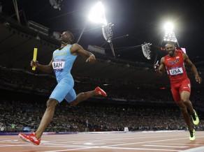 Bahamieši pārsteidz un uzvar 4x400 metros, Lavillenī jauns olimpiskais rekords