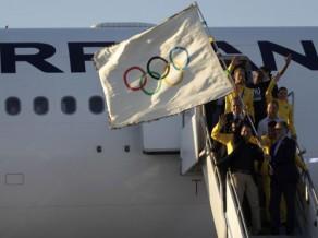 Olimpiskais karogs nogādāts Riodežaneiro