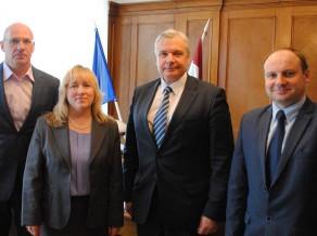 LSPA viesojas izglītības un zinātnes ministrs Kārlis Šadurskis