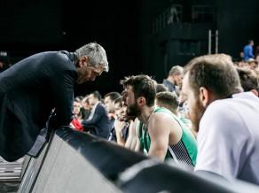 Bagatskis un Bertāns Eirolīgā pret ''Panathinaikos'' VSB kanālā