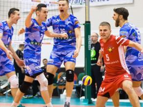 """Buivida, Kudrjašova un Švāna """"Parnu"""" izcīna Igaunijas kausu volejbolā"""