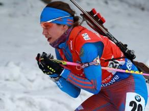 IBU kausa iedzīšanā gan vīriešu, gan sieviešu konkurencē uzvar Krievijas biatlonisti