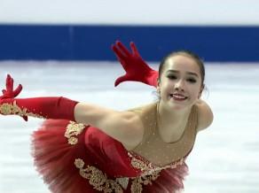 Daiļslidošanas jaunā zvaigzne Zagitova sasniedz junioru pasaules rekordu