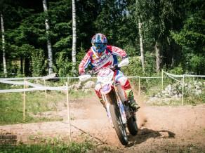 Igaunijā Baltijas čempionātā Enduro triumfē Ivo Šteinbergs