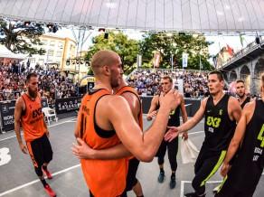 """""""Rīga Ghetto Basket"""" 3x3 basketbolisti izcīna 3. vietu Pasaules tūrē Lozannā"""