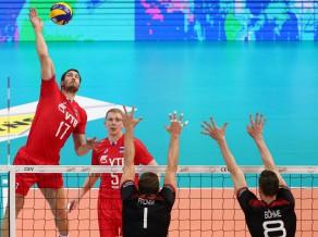 Krievija triumfē Eiropas čempionātā, piecos setos salaužot pārsteidzošos vāciešus