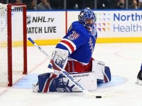 """Lundkvists atvaira 34 metienus un palīdz """"Rangers"""" uzvarēt"""