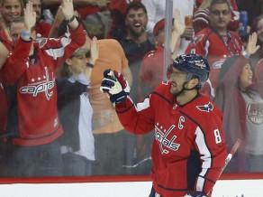 Ovečkins atzīts par NHL jaunās sezonas ievada pirmo zvaigzni